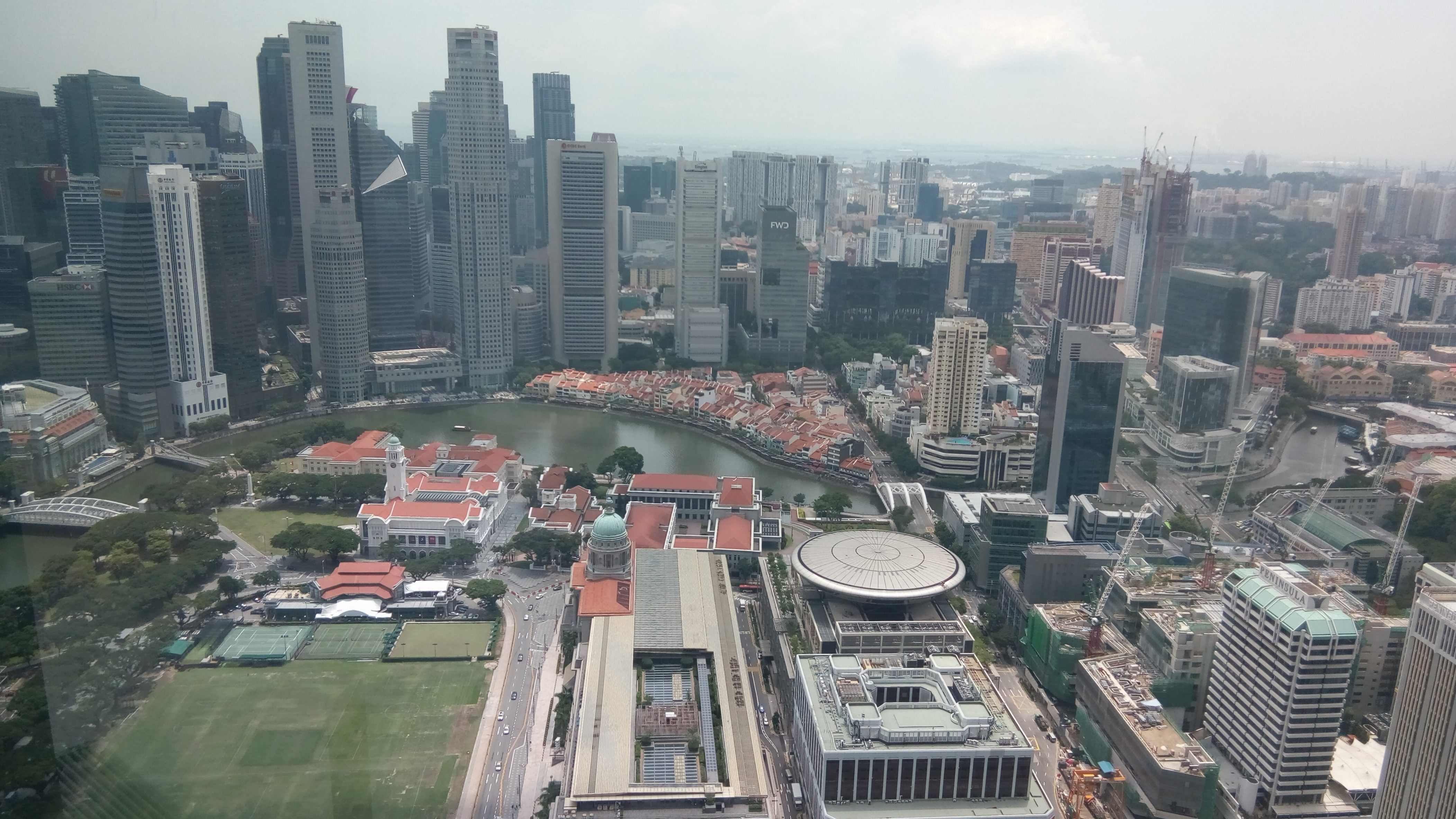 Map shows best location for private tuition from Skai Fairmont Singapore