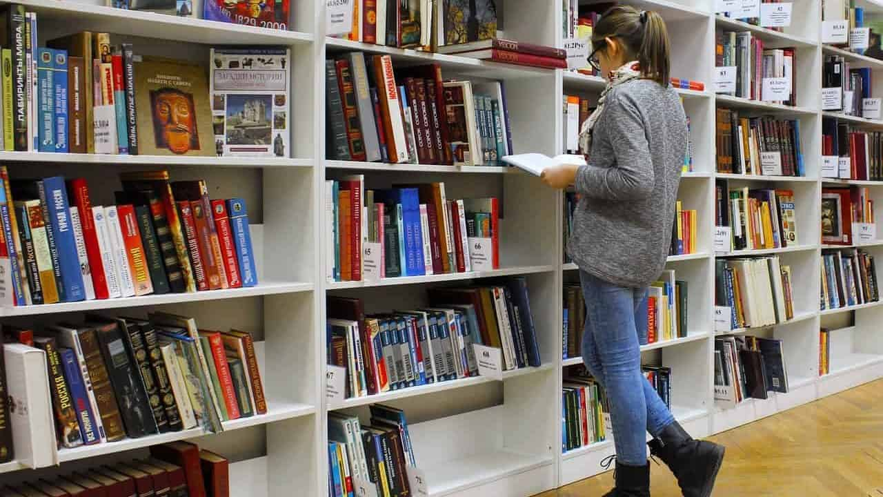 We teach our students how to self-study, such as to do research in a library