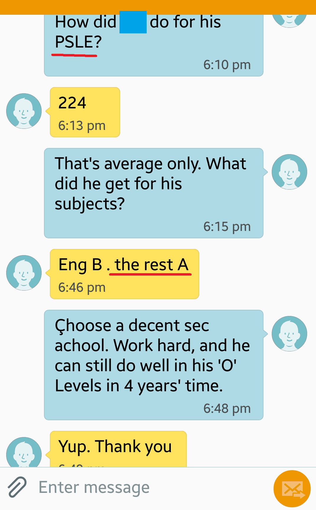 Tampines Primary School student A grade after Science Tuition and English Tuition